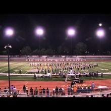 LGSH Marching Band & Color Guard at Independence HS Field Show Competition